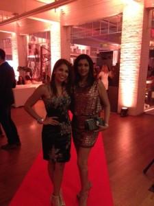 Sangita Patel and KJ @ Entertainment Tonight Anniversary Party