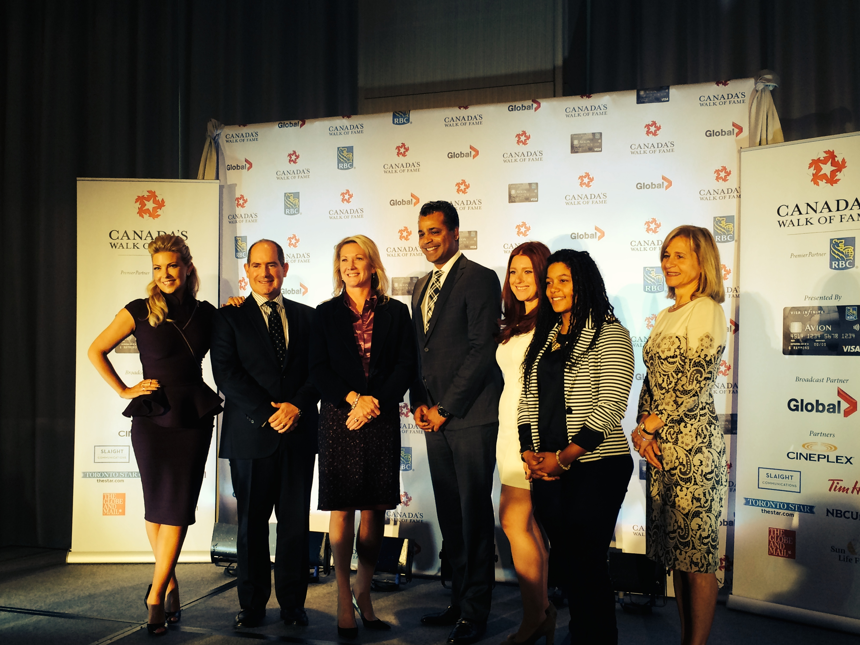 CANADA'S WALK OF FAME 2014 INDUCTEES