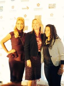Cherly Hickey, Melanie Hurley, CEO Canada's Walk of Fame, NEFE