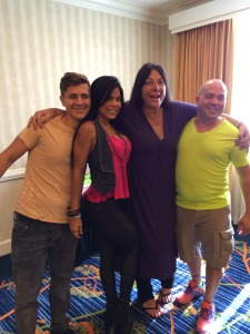 Some of the participants from the Fort Lauderdale , Florida Boot camp with Marki Costello