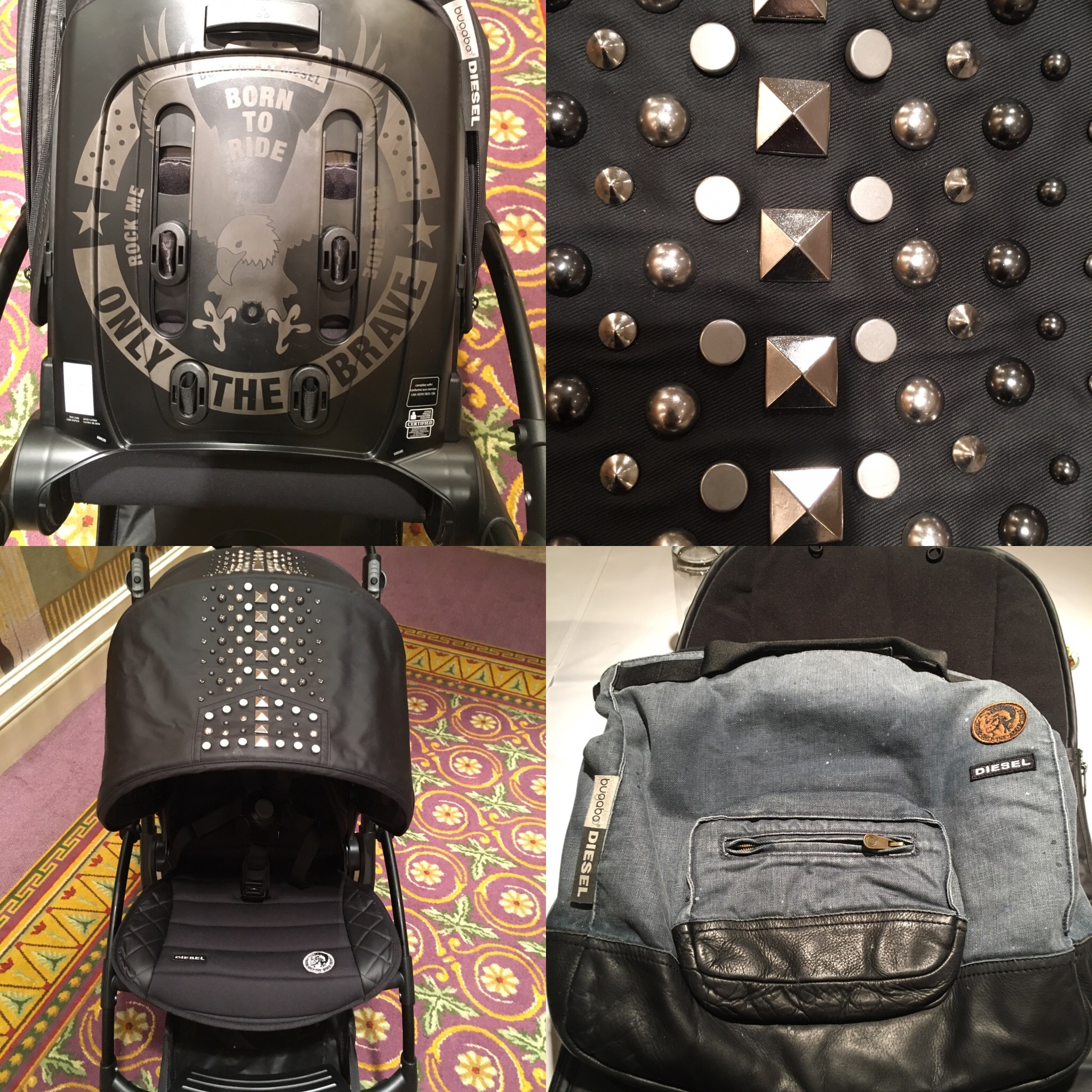 Bugaboo & Diesel The Rock Collection