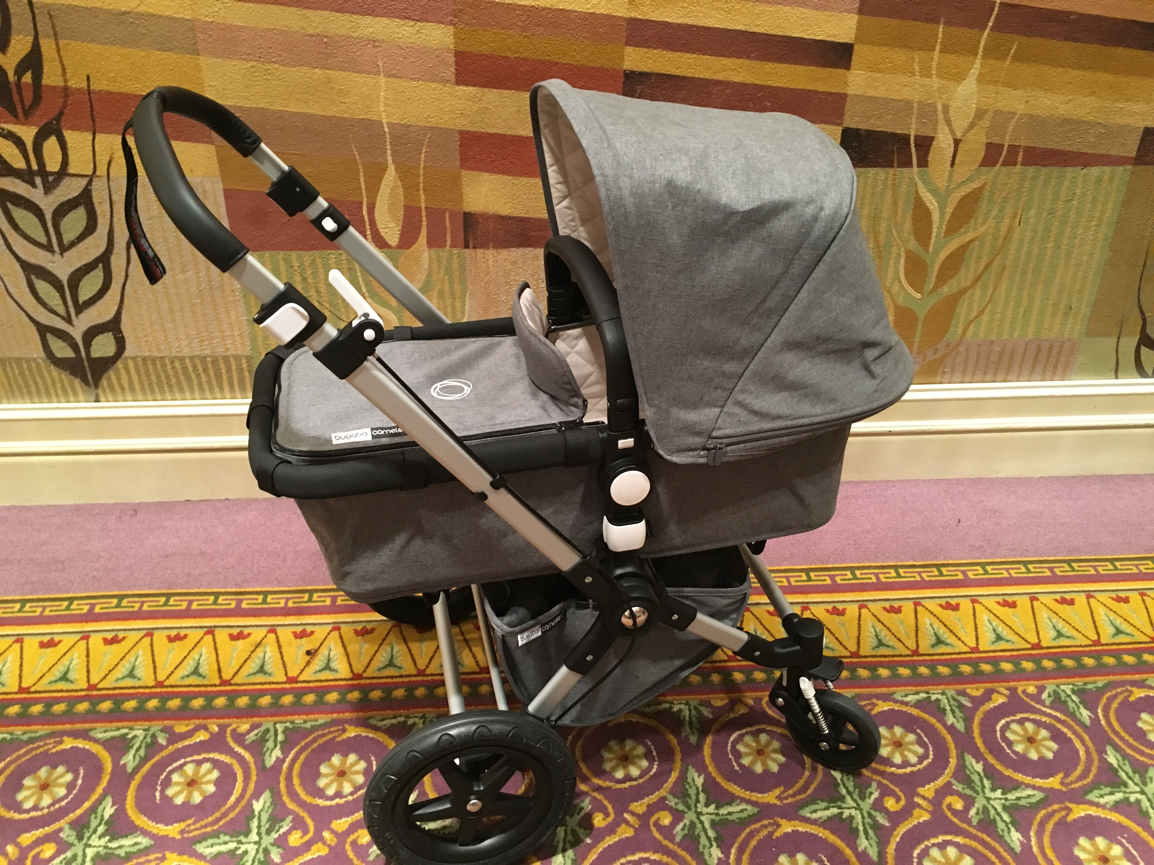 The Bugaboo Cameleon Classic +Collection featured in Grey Melange